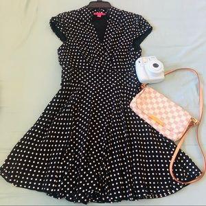 Cute Polka Dot Betsy Johnson Dress